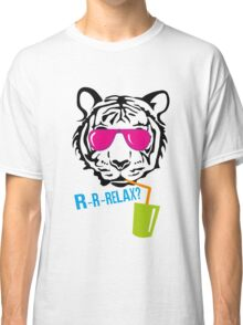 Face of a tiger relax Classic T-Shirt