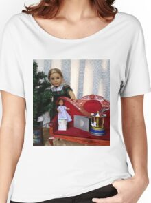 Christmas Scene Women's Relaxed Fit T-Shirt