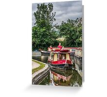 A Day Cruising Greeting Card