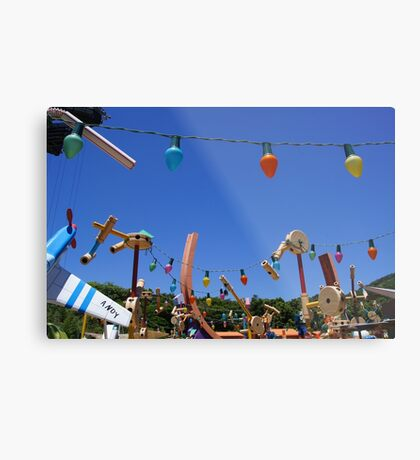 Out of the Toy Box Metal Print