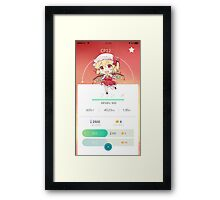 Touhou Project Go Framed Print