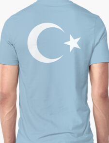 Turkistan, Turkistan Flag, Flag of East Turkistan, Pure & Simple Unisex T-Shirt