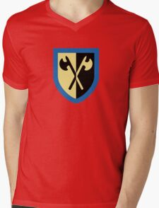 Crusaders - Crossed Axes Mens V-Neck T-Shirt