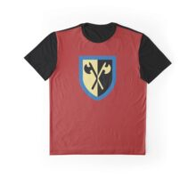 Crusaders - Crossed Axes Graphic T-Shirt