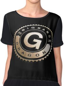 G-dragon golden logo, Bigbang, Kpop Star Chiffon Top