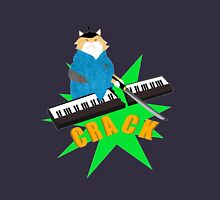 Samurai Cat Piano Teacher that may or may not be near a simulated piano Unisex T-Shirt
