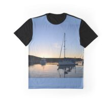 Tranquil Anchorage Graphic T-Shirt