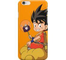 //Goku x Flying Nimbus of Roshi// iPhone Case/Skin