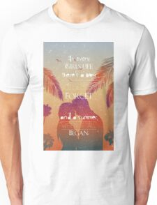 Tropical Beach Theme summer love Unisex T-Shirt
