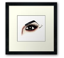 Eye see Manila Framed Print