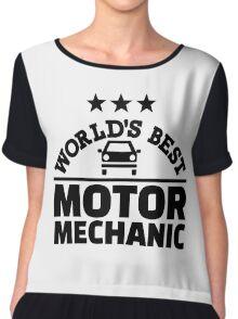 World's best motor mechanic Chiffon Top