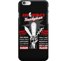 Ash & Merle's Handyman Appliances iPhone Case/Skin