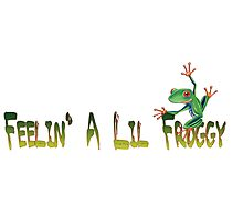 Feelin A Lil Froggy Photographic Print