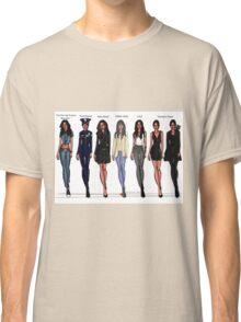 Sarah Shahi characters Classic T-Shirt