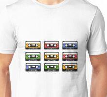 Die Vielfalt der Kassetten Unisex T-Shirt