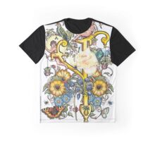 The Illustrated Alphabet Capital Y (Fuller Bodied) from THE ILLUSTRATED MAN Graphic T-Shirt