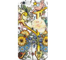 The Illustrated Alphabet Capital Y (Fuller Bodied) from THE ILLUSTRATED MAN iPhone Case/Skin