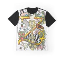 The Illustrated Alphabet Capital Z (Fuller Bodied) from THE ILLUSTRATED MAN Graphic T-Shirt