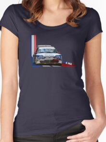 Peugeot 306 Maxi Women's Fitted Scoop T-Shirt