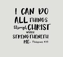 I can do all things through Christ Bible Verse Unisex T-Shirt