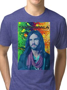 Tame Impala Psychedelic Kevin Parker Poster Tri-blend T-Shirt