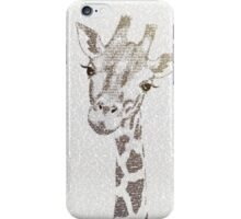 The Intellectual Giraffe iPhone Case/Skin