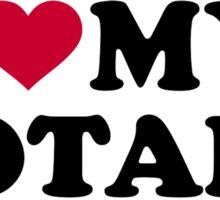I love my notary Sticker