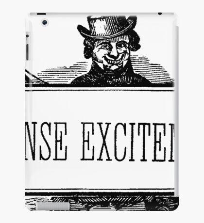 Intense Excitement! iPad Case/Skin