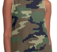 Minecraft Camouflage Contrast Tank