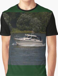 Small Cabin Cruiser Graphic T-Shirt