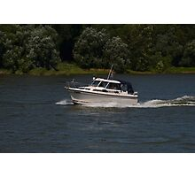 Small Cabin Cruiser Photographic Print