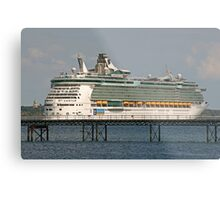Independence on the Pier? Metal Print