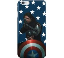 Bucky and Cap iPhone Case/Skin