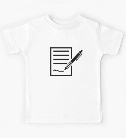 Contract Kids Tee