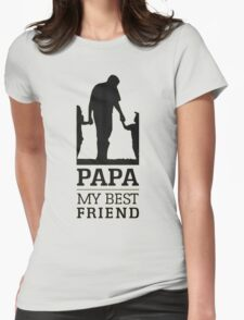 PAPA Womens Fitted T-Shirt