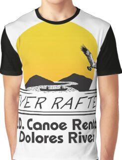J.D. Canoe Rental Dolores River Graphic T-Shirt