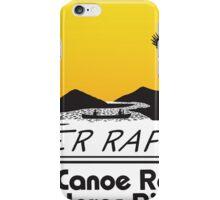 J.D. Canoe Rental Dolores River iPhone Case/Skin