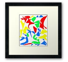 Decorative colorful abstraction Framed Print