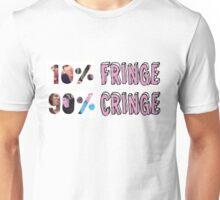 Dan and Phil - 10% fringe 90% cringe Unisex T-Shirt