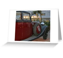 Roller Down The Bay Greeting Card