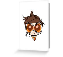 Tracer Greeting Card