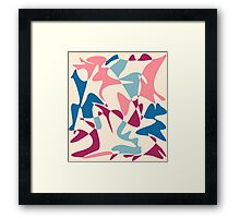 Colorful decorative abstraction Framed Print