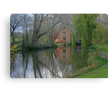 The Mill, Canford Magna Canvas Print
