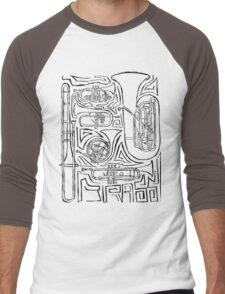 Dat Brass Men's Baseball ¾ T-Shirt