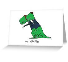 the reX-Files Greeting Card