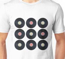 Schallplatten - Retro Unisex T-Shirt