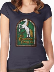 The Prancing Pony Women's Fitted Scoop T-Shirt