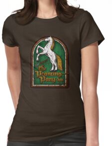 The Prancing Pony Womens Fitted T-Shirt