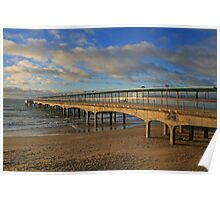 Boscombe Pier Poster