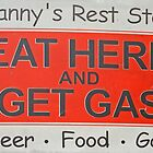 Eat Here and Get Gas by RedHillDigital